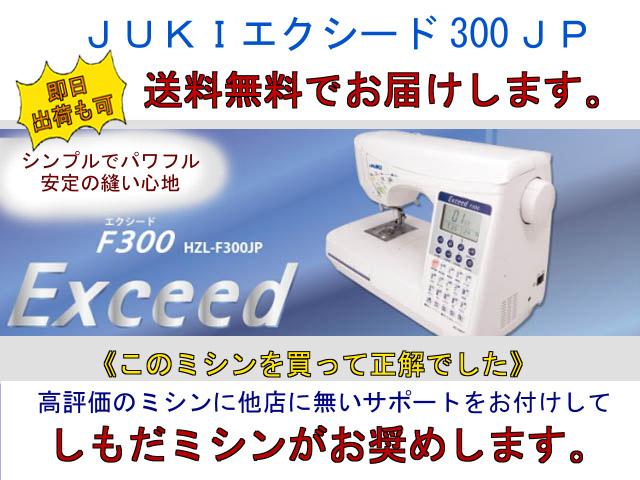 画像: エクシードF300JP*商品に絶対の自信がある!だから選びました!サポートも自社対応!だから強い&早い!
